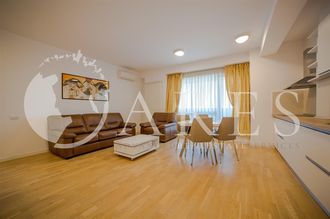 Apartament 3 Camere 120 MP Mobilat Lux Garaj Subteran Baneasa