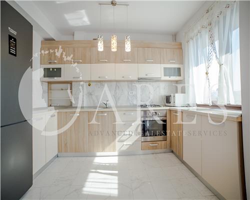 Apartament 3 Camere 90 MP + loc parcare Mobilat Lux Vitan Dudesti